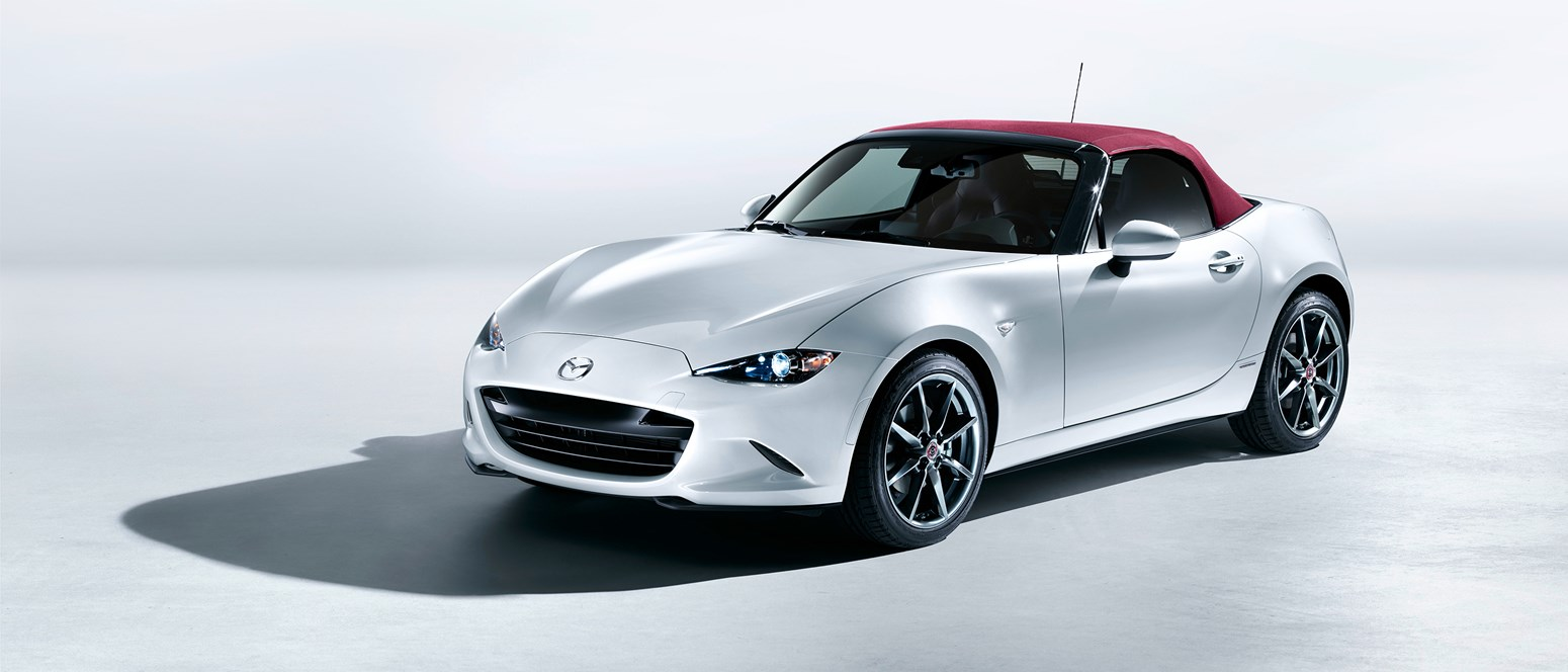 Den populære Mazda MX-5 med nyt modelsortiment