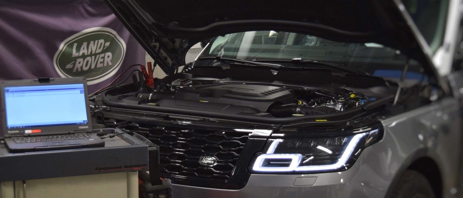 Autoriseret Jaguar og Land Rover værksted