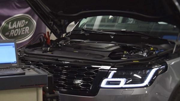 Service af Jaguar & Land Rover